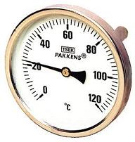 Termometre Arkadan Girişli